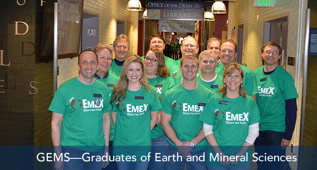 GEMS—Graduates of Earth and Mineral Sciences