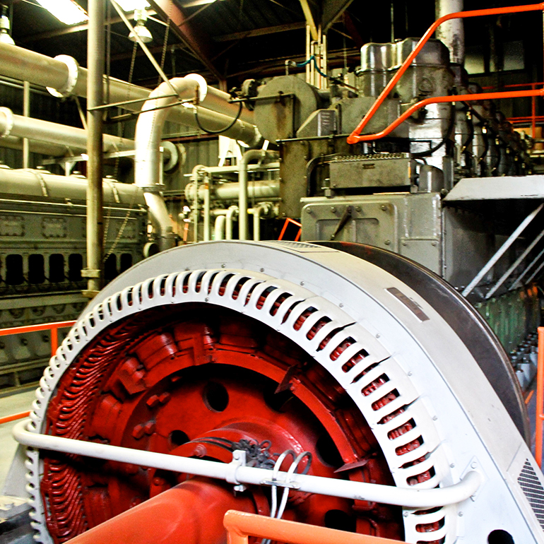 Inside machine work